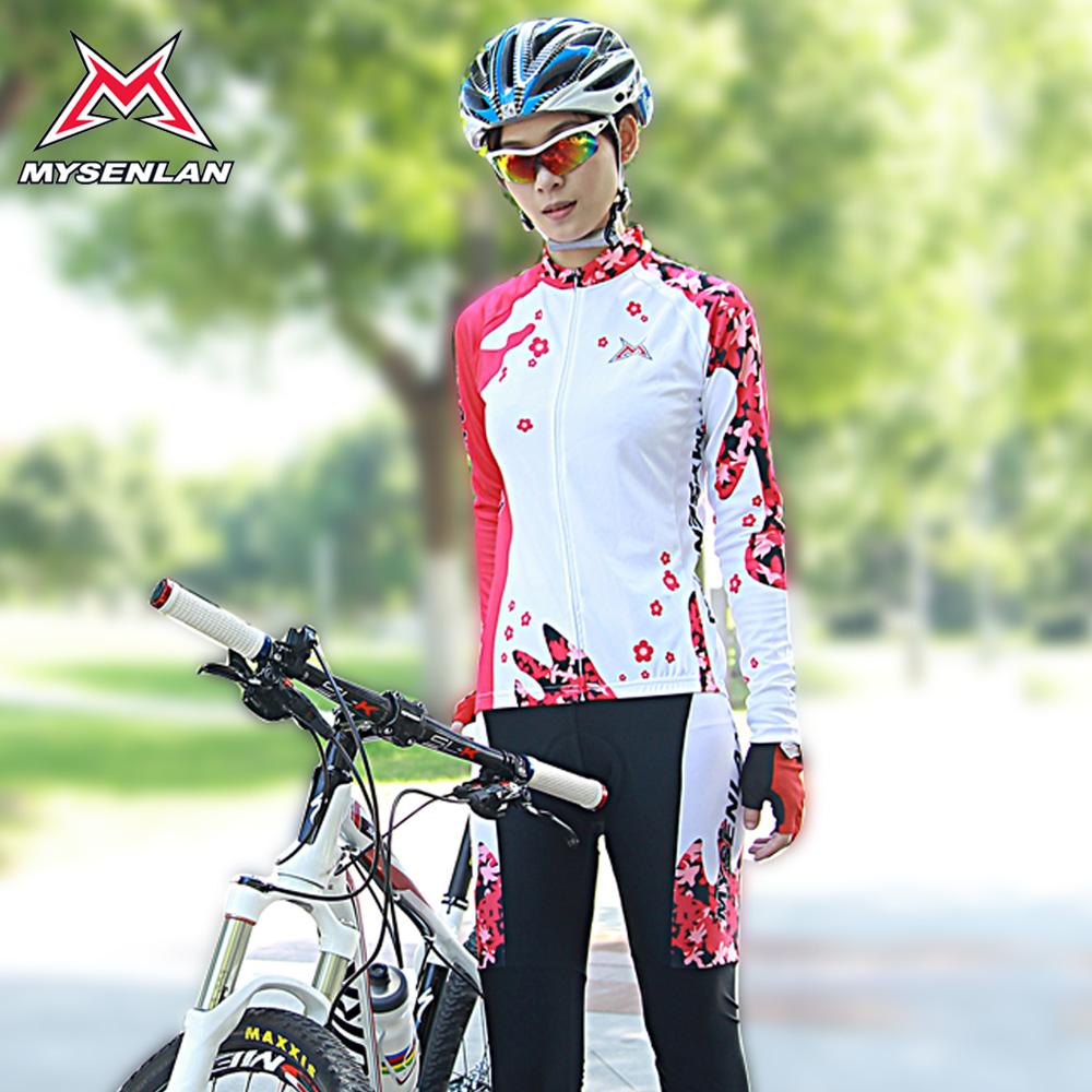 Feminino serviço passeio passeio das mulheres ciclismo esportes da bicicleta da estrada de roupas de manga comprida primavera e verão conjunto protetor solar(China (Mainland))