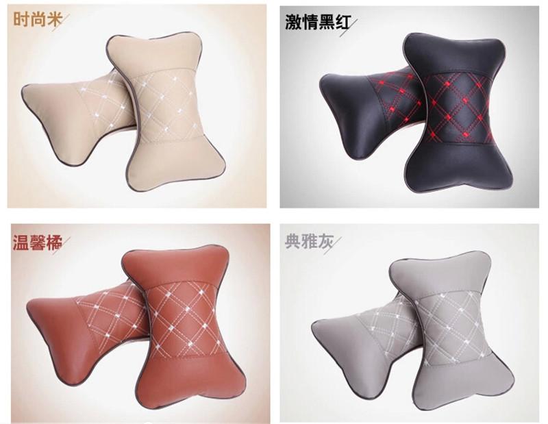 Wine red wine headrest series neck pillow bone pillow 4color headrest single 2pcs per set(China (Mainland))