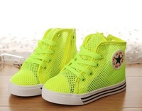 2014 New fashion boys and girls child sneakers gauze casual sandals sport shoes boys girls fashion skateboarding shoes