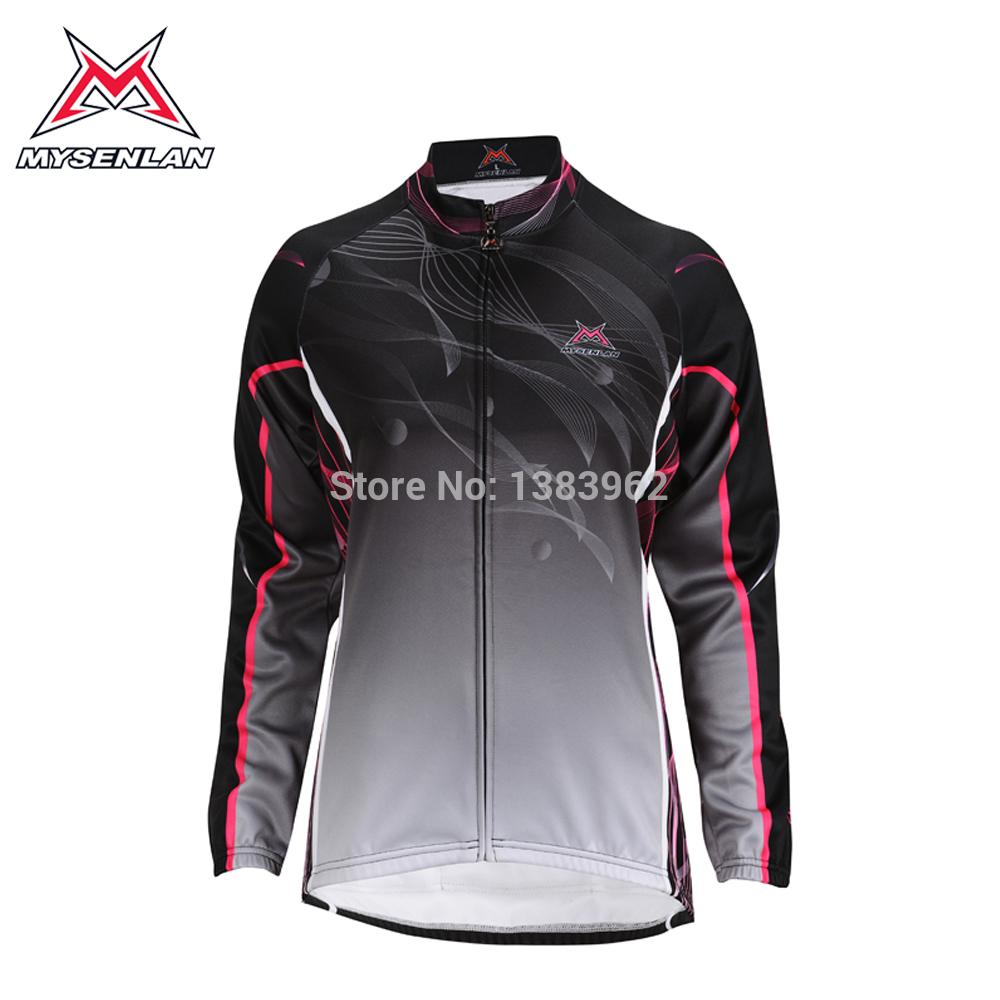 passeio de bicicleta qualidade serviço inverno lã térmica feminino upperwear roupas roupas de corrida upperwear automóvel(China (Mainland))