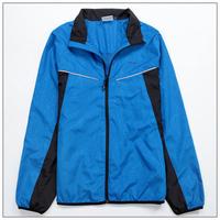 Demix child sports wear big boy sports outerwear sweatshirt blue black wind breaker trench parkas boys coat 128-146-158 coat
