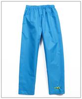 Big boy Rain pant child boys water proof rain protector travel outdoor trousers 128-140cm children long windbreaker trousers