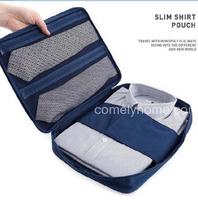 Slim shirt pouch necktie pocket