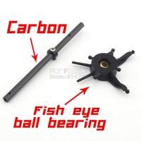 Free Shipping V911 Upgrade Spare Parts V911 V911-1 Carbon Main Shaft + Fish Eye Swashplate for wholesale