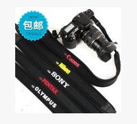Elastic damping strap For Canon Nikon Sony Professional SLR camera strap decompression economic comfort