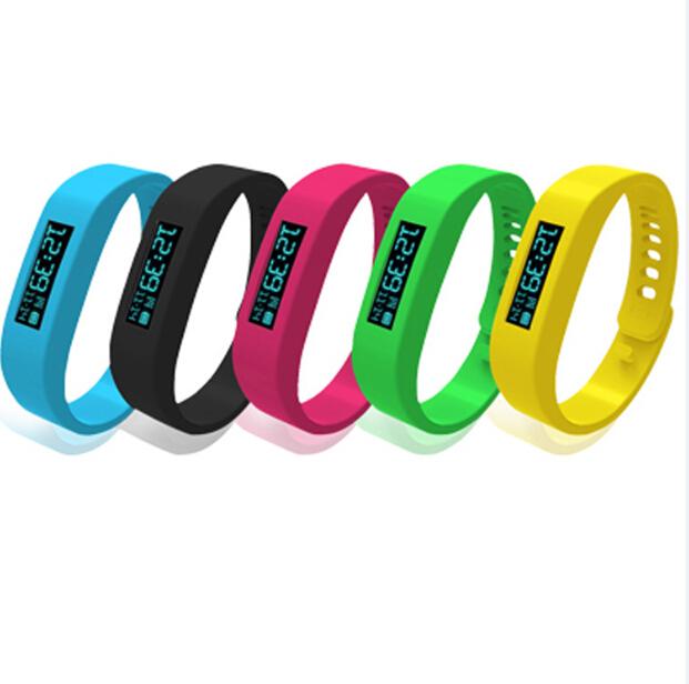 Cheap! Bluetooth Bracelet Smartband Health Fitness Tracker Gear Fit For Tracking Sleep Pulseira Inteligente Fuelband(China (Mainland))