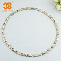 2014 Vintage Necklace Cheap Statement Long Silver-gold Necklace
