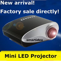 Projector Mini Led Projector HDMI Home Theater Projector Support HDMI VGA AV USB Portable 1080P Digital projector for PC