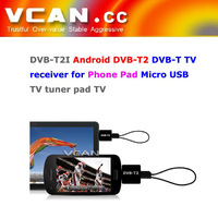2015 New! Free shipping! DVB-T2I Android DVB-T2 DVB-T TV receiver for Phone Pad Micro USB TV tuner