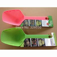 scoop colander pasta colander spoon 100pcs/lot free shipping