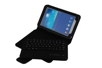 2014 new Bluetooth Keyboard+ PU Leather Case ABS removable keyboard for samsung Galaxy Tab3 T310 T311 free shipment