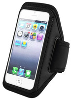 Mobile phone Waterproof Premium Black Full Running Sports Gym Armband Case Cover For iPhone 5 5S Wallet Leather Case ca000026