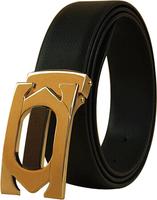 Man Genuine leather belt Cowskin belt Slide buckle Brand designer Solid Adjustable Cintos Cinturon 6 colors M233 New arrival