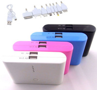 Universal 12000mAh Backup External Battery USB Power Bank Charger for Cell Phone free shipping