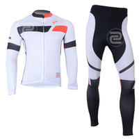 2014 long sleeve cycling jersey and pants bike bicycle jerseys wear clothes set