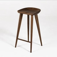 Tractor Stool Counter stool walnut solid wood bar stool living room furniture chair B104