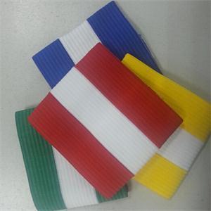 2014 Brand Adjustable Elastic striped armband Football Games Captain Arm Band(China (Mainland))
