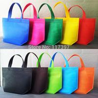 2014 New Wholesales reusable bags  non woven  /shopping bags/ promotional bags  26 X 33 X 10 cm  50pcs/lot