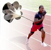 "Brand New 56"" Speed Training Resistance Parachute Umbrella Running Chute & Fitness Explosive Power Training Free Shipping"
