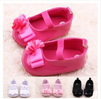 Fashion Beautiful Flowers Cute Princess Baby Girl Shoes Autumn New Girls First Walkers 4  Colors For Choose