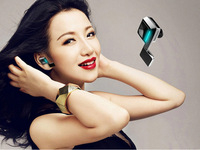 Ultra Light CSR Bluetooth 4.0 + EDR Wireless Mini Stereo Bluetooth Earphone Headset With MIC, Answering Calls & Listening Music