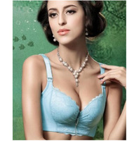 FREE SHIPPING 34-38 C Cup  Bra Sexy Underwear Lace Push Up Hot Selling Women Large Size Bra