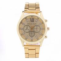 Women Stainless Steel Strap Watch Women Dress Watches Fashion Ladies quartz bracelet Wristwatches