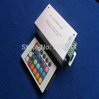 2pcs / lot Free shipping 24-keys IR remote controller 12v/24v for smd 3528 or 5050  led strips light
