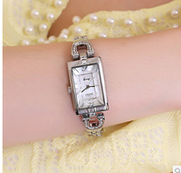 Unique designer ingenuity watch three-dimensional cutting table mirror  Elegant crystal bracelet watch  for beauty girl