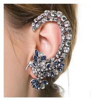 Min order is $10(mix order)2014 new arrived Birds earhook fake ear clip Elf for women fashion earrings