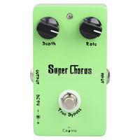 Super Chorus Guitar Pedals CP-13 True Bypass Green New  NI5L
