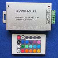 20pcs / lot Free shipping 24-keys IR remote controller 12v/24v for smd 3528 or 5050  led strips light