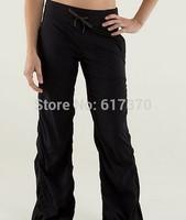 Luon Dance Studio Pants GYM Pants Lemoon Black  Yoga Pants Fashion  Slim Dance Pants Comfortable