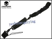 EMERSON Elasticity Pistol Lanyard Sling Safe Carrying Spring Belt Loop BK/DE Color-Free Shipping