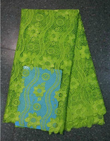 Water soluble lace fabric African guipure lace fabric embroidery garment,SW-4793