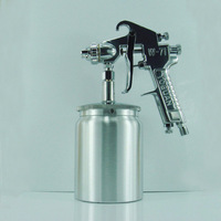 High Quality W-71 600cc Painting Sprayer 1.0/1.3/1.5/1.8mm Pneumatic Paint Gun Furniture/Car Automotive Paint Spray Gun