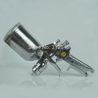 Taiwan W-71 Pneumatic Paint Gun 400cc Automotive Spray Gun 1.3 1.5mm Aluminum Paint Tool Free Shipping
