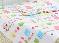 Baby bath towel Bedding SheetsTowel Blankets Quilt Diapers No shrink Do not fade No distortion Security dyeing process120*140cm