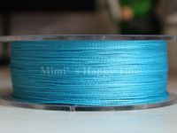 8LB 0.10mm 100% PE Dyneema Braided Fishing Line 100M Blue 109 Yard Spectra 4 Braid fishing line