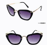 Ms international big box restoring ancient ways the cat eye sunglasses driving glasses fashion sunglasses sunglasses 1301 toad