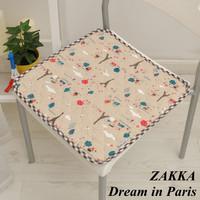 New arrival fluid quilting cushion thin cushion dining chair cushion slip-resistant seat cushion