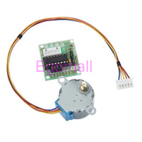 Brand New 5V Stepper Motor 28BYJ-48 With Drive Test Module Board ULN2003 5 Line 4 Phase D7