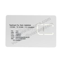 LTE Test SIM Card 4G LTE 3G WCDMA Mobile Phone Test Micro SIM Card for R&S CMW500