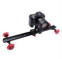 wholesale New Kamerar style camera Slider Dolly with tripod ball head for shooting movie also for DSLR RIG
