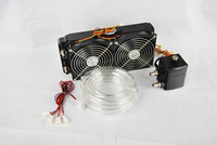 Freeshipping SYSCOOLING WATER COOLING KIT FOR 1000WBTC MINER MACHINE WITH QUIET LIQUIDECOOLING FAN AND WATERPUMP