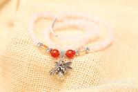 Powder crystal bracelet, Lovers natural  bracelet. popular original vintage crystal jewelry jewelry multilayer bag Butterfly