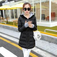 2014 winter women fashion down jacket feather dress,warm female Cotton padded clothes latest slim jacket girls long snow coats