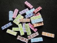 300pcs 6x20mm Cuboid Multi Acrylic Pony Beads Cube Tube Beads DIY Craft Jewelry Making Beads