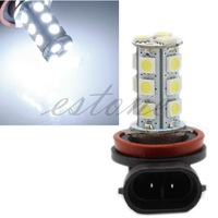 H11 H8 18 LED 5050 SMD Car Day Driving Fog Head Lamp light Bulb Xenon White  free shipping