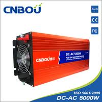 off grid 36v 110v 5000w pure sine wave solar inverter